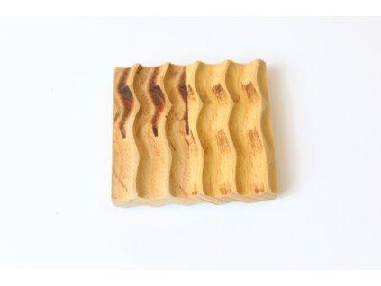 Drevená šampónička - Vlna