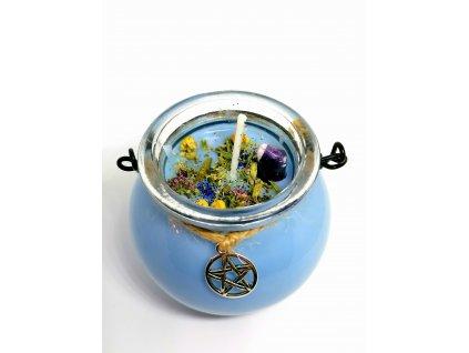 magicka bylinkova sviecka meditacia