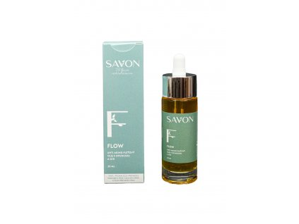 FLOW - anti aging pleťový olej s opunciou a Q10