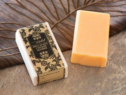 Mýdlo na ruce s ovesným hedvábím