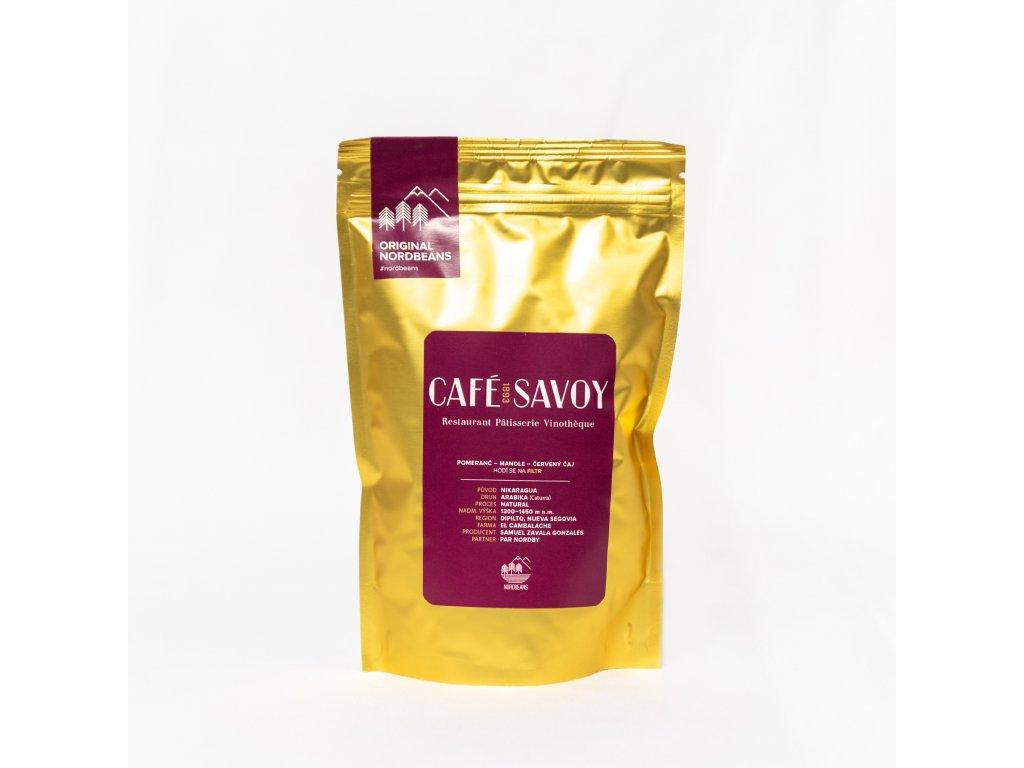 Káva Nordbeans - Café Savoy