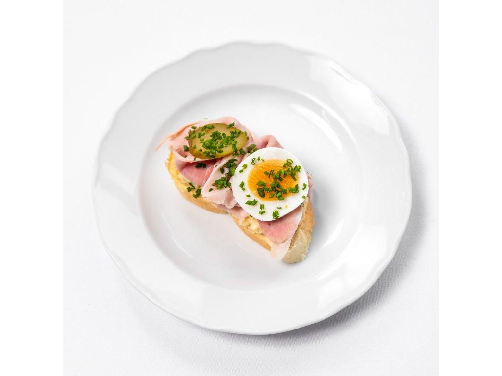 Šunkový chlebíček - Café Savoy