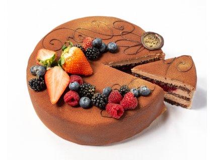 Narozeninový mléčny dort - Café Savoy