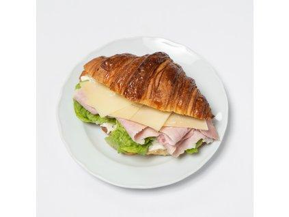 Croissant se šunkou a sýrem - Café Savoy