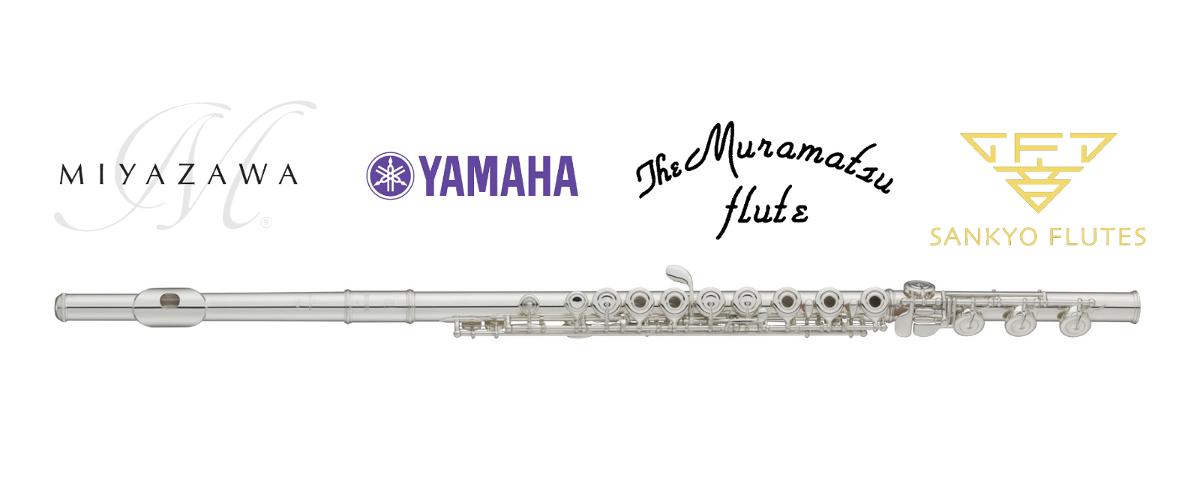 Flétny Miyazawa, Yamaha, Muramatsu, Sankyo