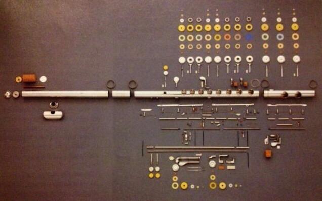 Oprava příčné flétny
