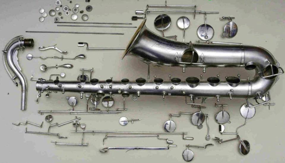 Oprava saxofonu