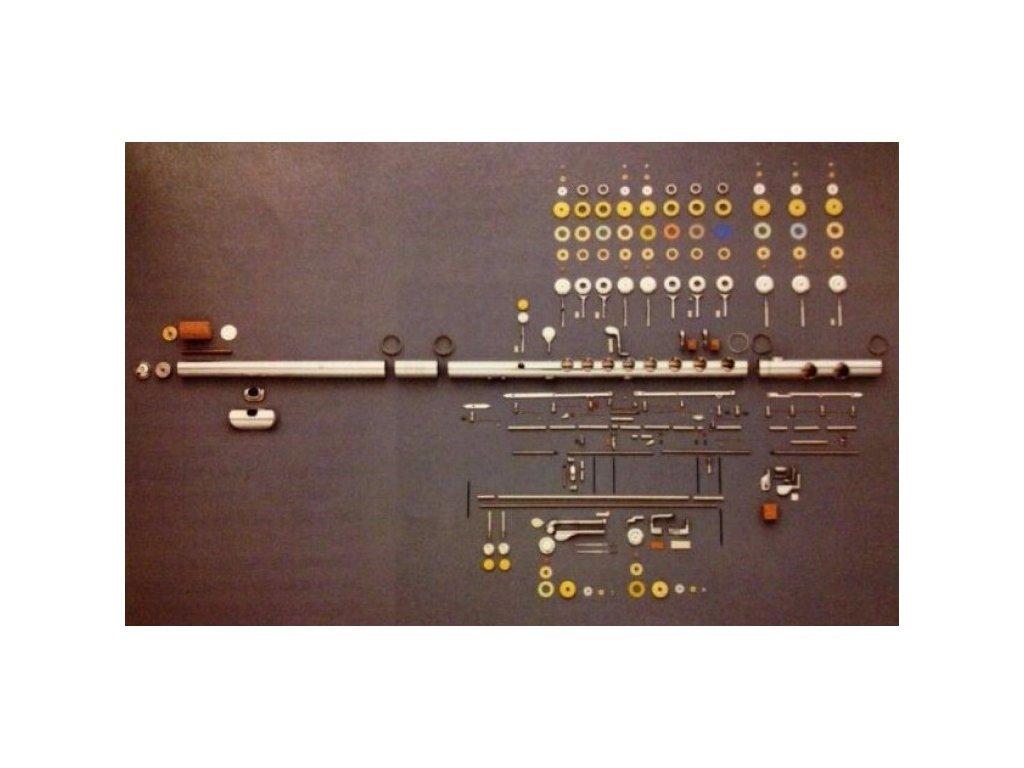 Seřízení mechaniky příčné flétny
