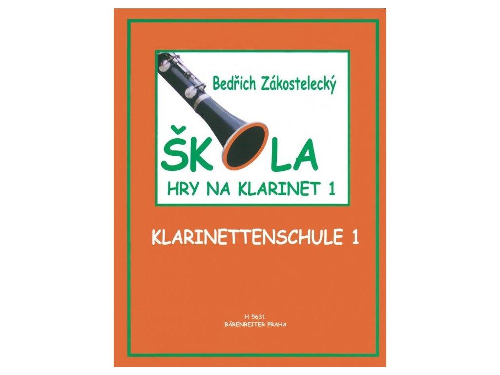 Bedřich Zakostelecký - Škola hry na klarinet 1