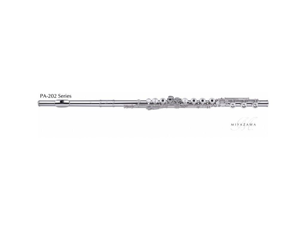Příčná flétna Miyazawa PB 202 E