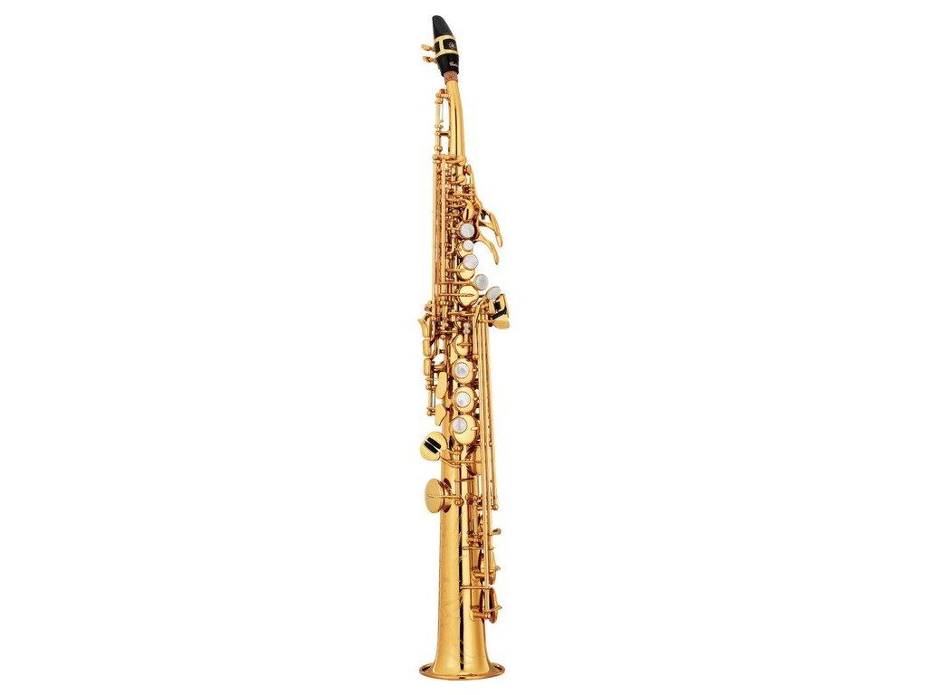 Yamaha YSS 82 ZR soprán saxofon  + ZDARMA 3 servisní prohlídky nástroje (v hodnotě 4500 Kč)