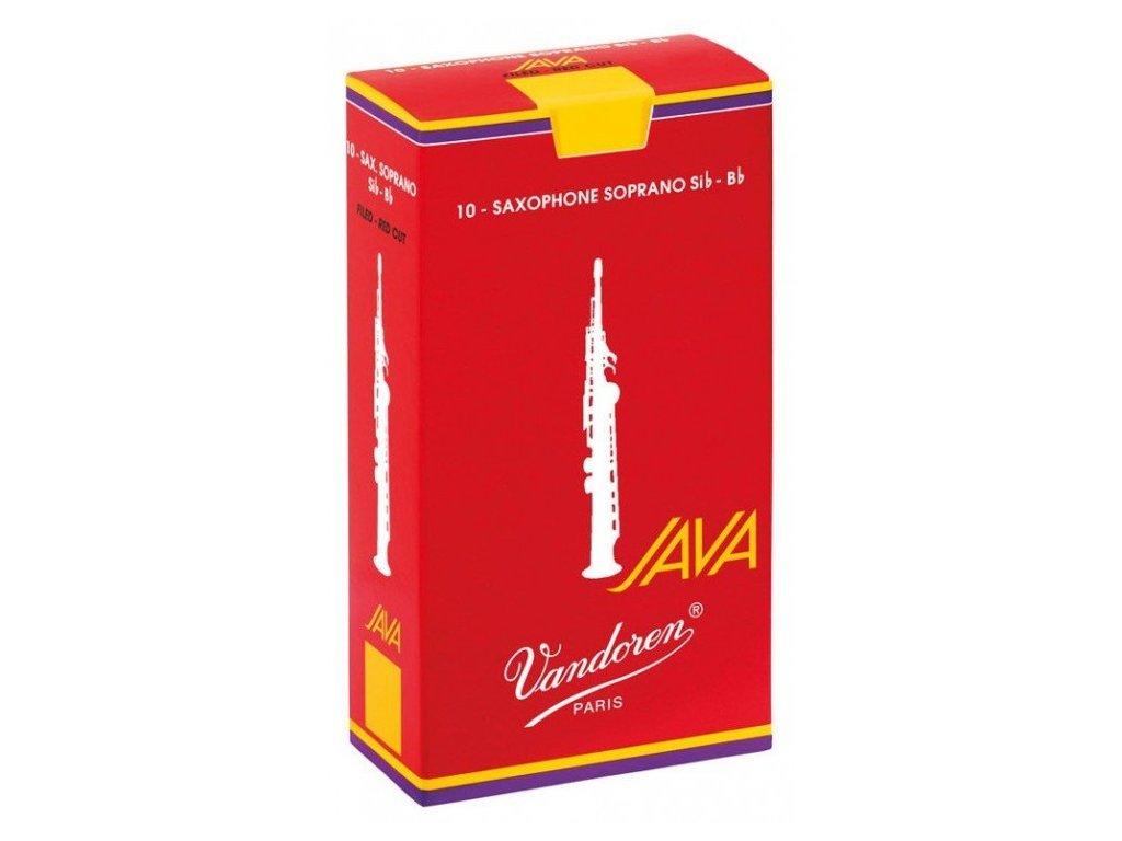 Vandoren Java Filed Red Cut 3 plátek na soprán saxofon