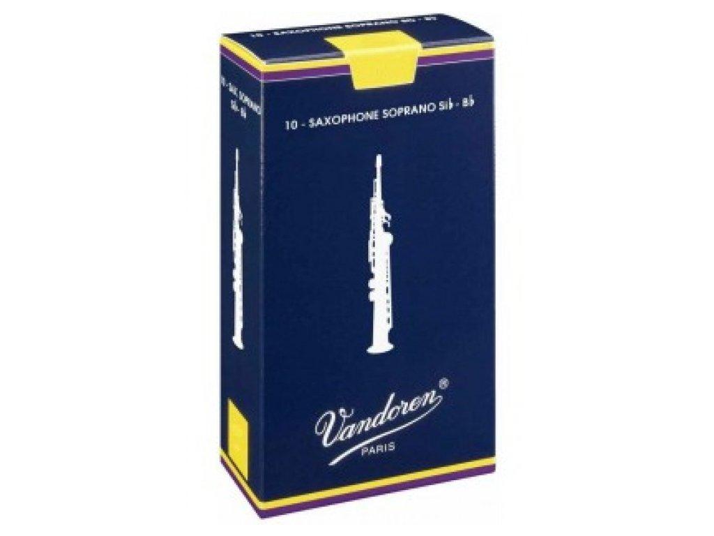 Vandoren Traditional 3 plátek na soprán saxofon