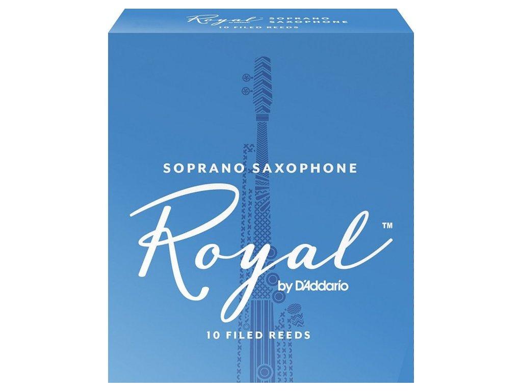 Rico Royal 2.5 plátek na soprán saxofon