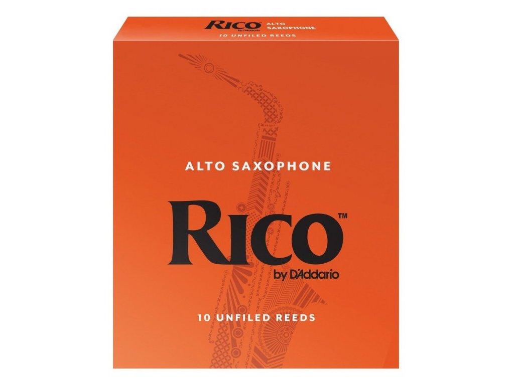 Rico 2 plátek na alt saxofon
