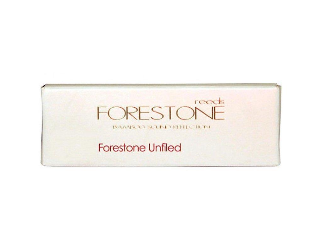 Forestone Unfiled F3.5 plátek na alt saxofon