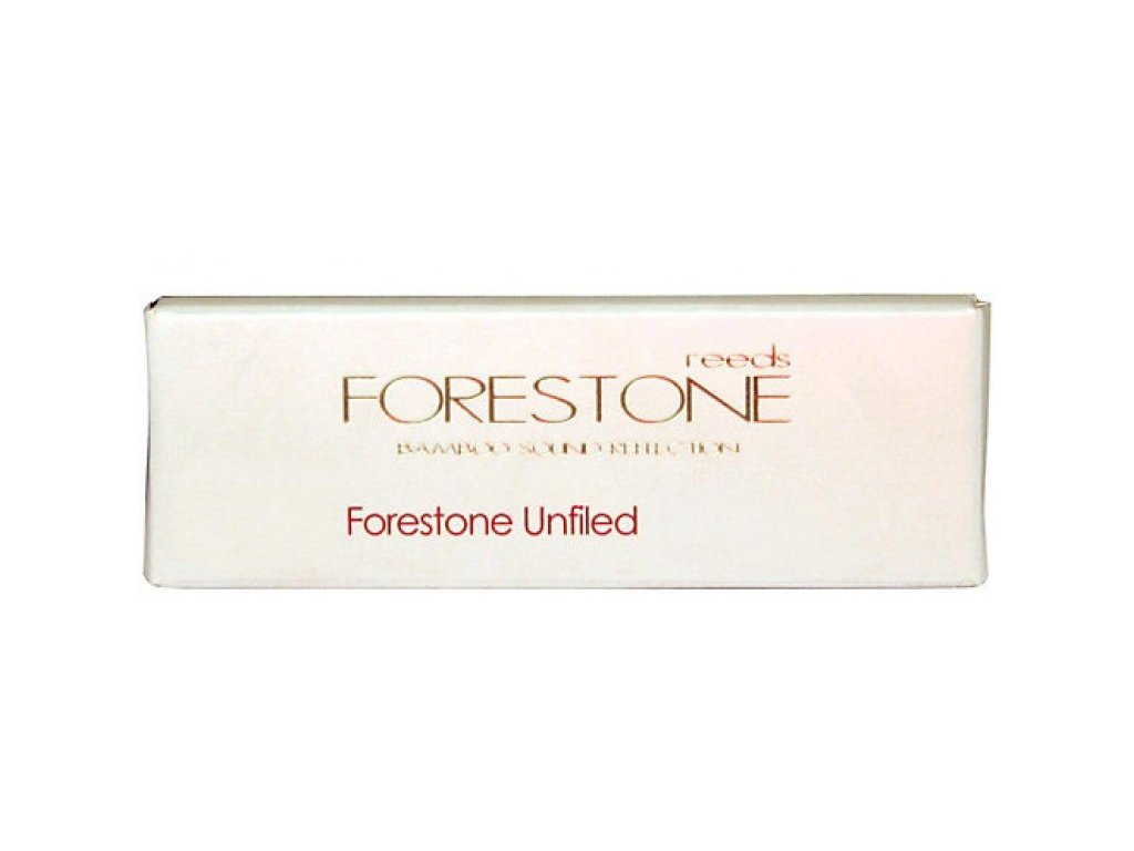 Forestone Unfiled F4 plátek na tenor saxofon