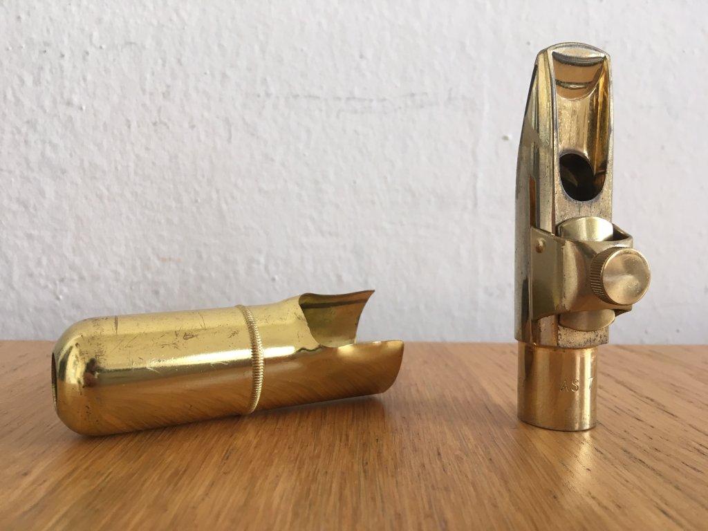 Zinner Select AS 7 hubička na alt saxofon POUŽÍVANÁ