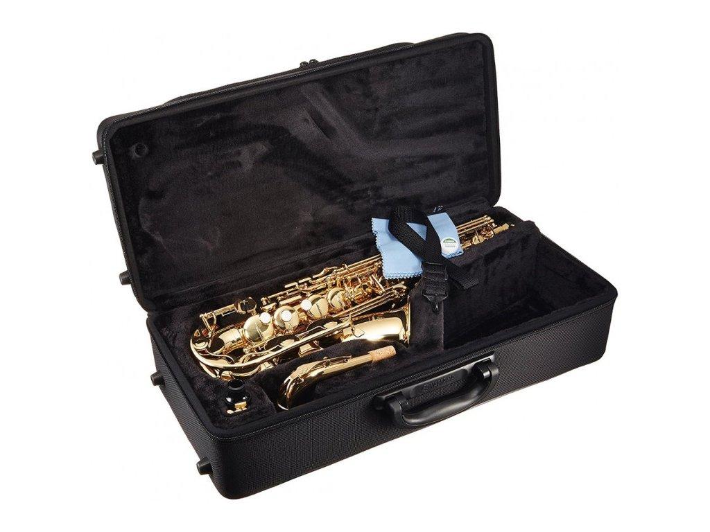 Alt saxofon Yamaha YAS 280 TOP_SET  + ZDARMA 3 servisní prohlídky nástroje (v hodnotě 4500 Kč)
