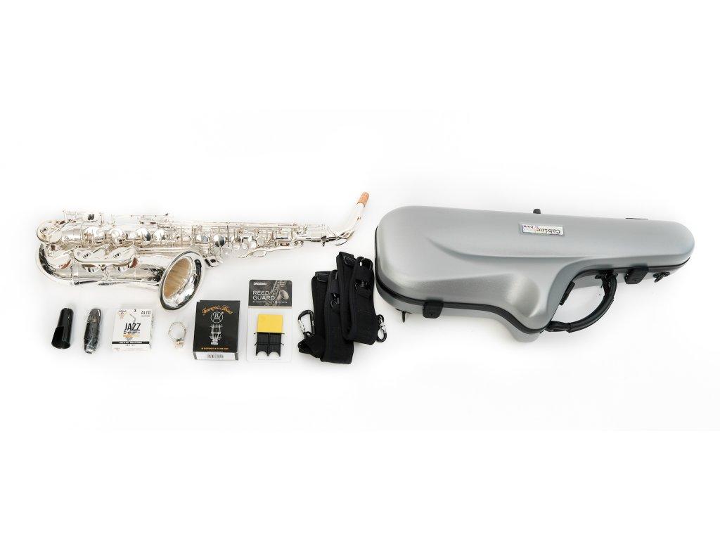 Ryu RSA Artist M6 SP alt saxofon SILVER PRO SET