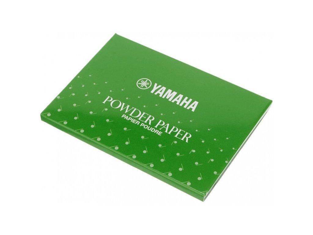 Yamaha pudrový papír