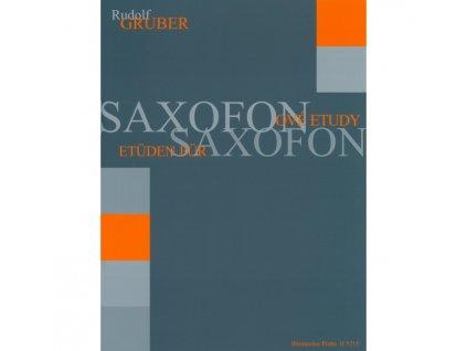 Rudolf Gruber - Saxofónové etudy