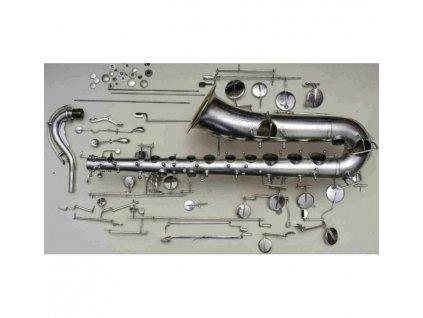 Vyčistení a seřízení mechaniky saxofonu