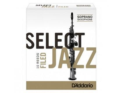 D'Addario Select Jazz Filed 2H plátek na soprán saxofon