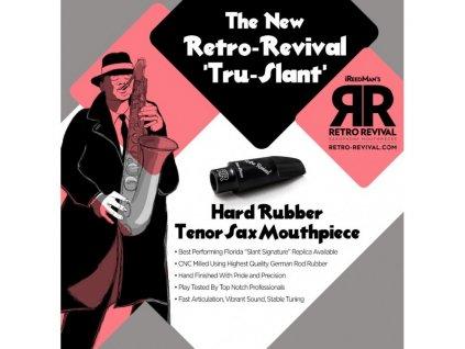 Retro Revival Tru-Slant hubička na tenor saxofon