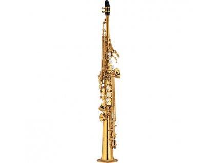 Yamaha YSS 475 II soprán saxofon  + ZDARMA 3 servisní prohlídky nástroje (v hodnotě 4500 Kč)