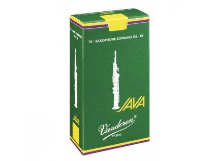 Vandoren Java 2.5 plátek na soprán saxofon