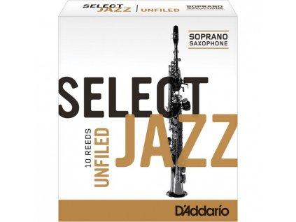 D'Addario Select Jazz Unfiled soprán sax 2H