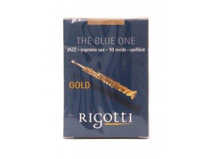 rigotti gold soprano saxophone