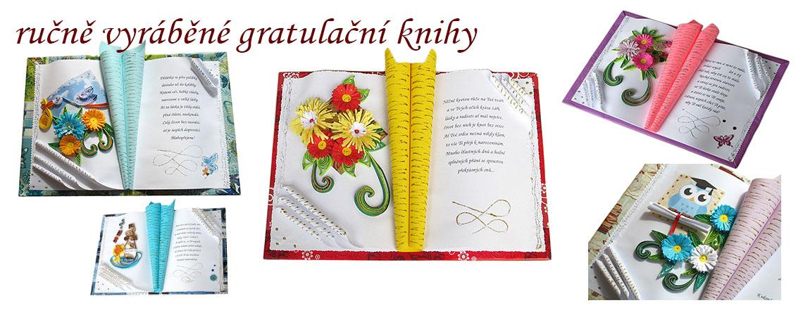 gratulační knihy