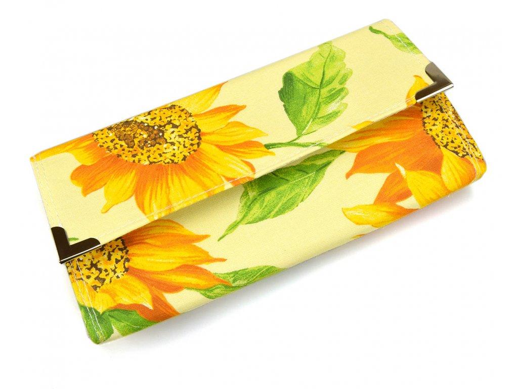 peněženka slunečnicová