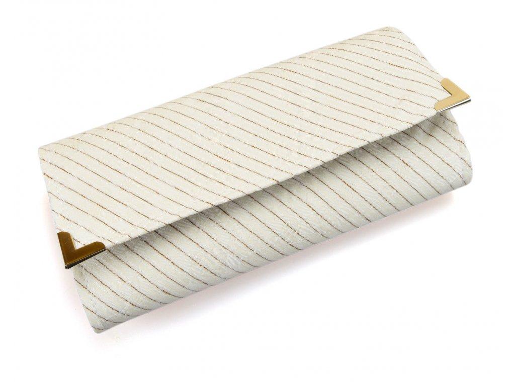 peněženka - krémová elegance