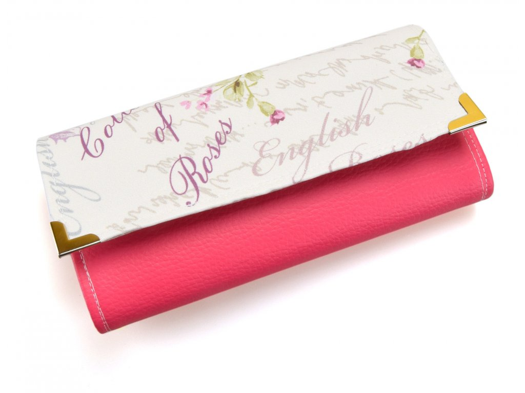 peněženka s růží