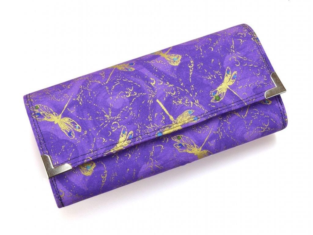 fialové vážky