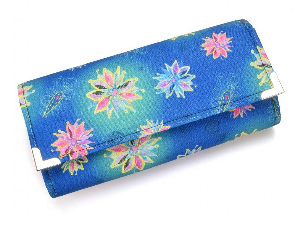 peněženka - modrá kouzla