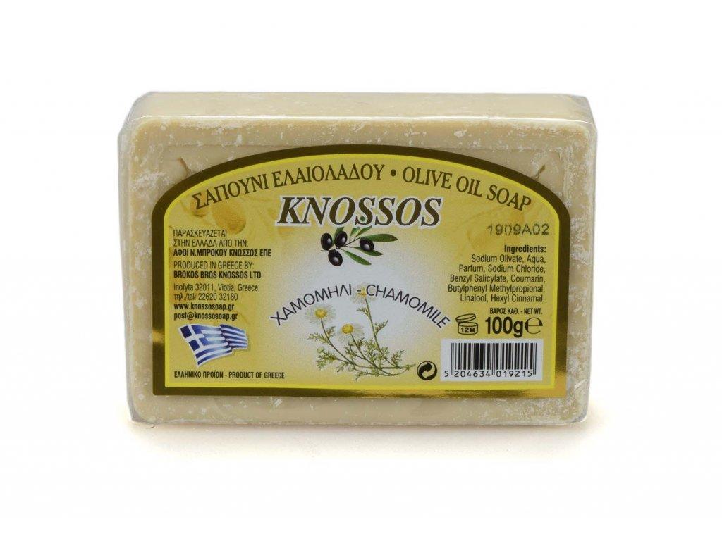 Řecké olivové mýdlo - heřmánek 100g