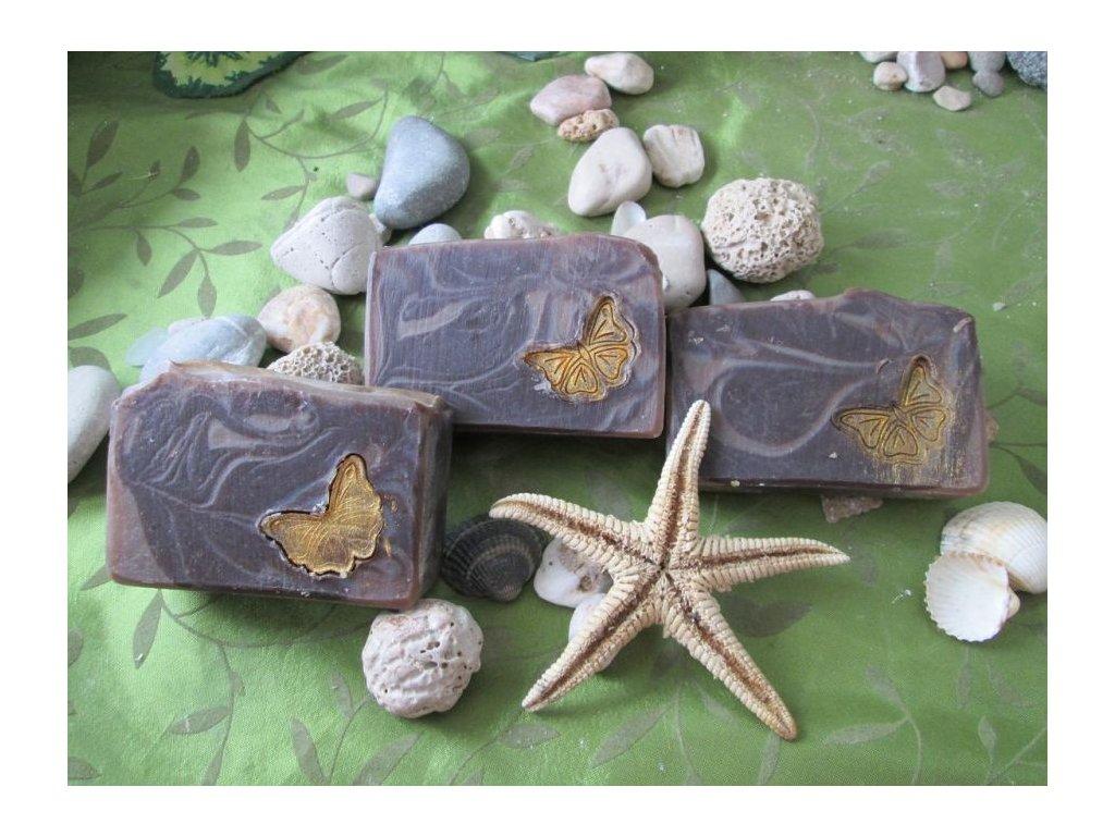 Čokoládové přírodní mýdlo