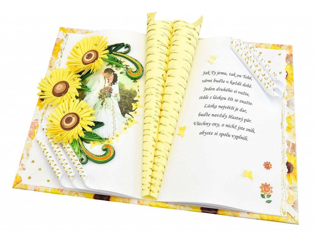 Slunečnice ke svatbě či výročí