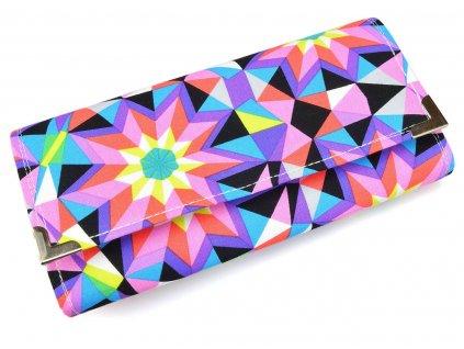 kaleidoskopická peněženka