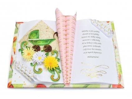 Gratulační kniha k narození děťátka