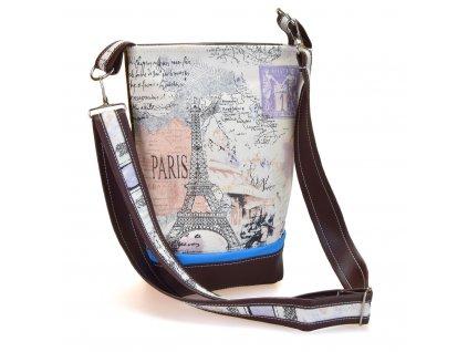 Crossbody kabelka - pařížský výlet