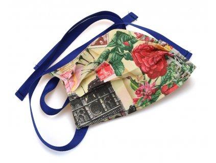 Rouška textilní