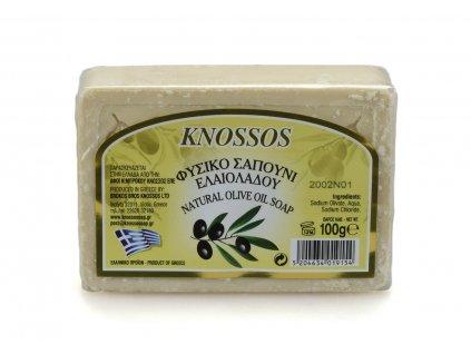 Řecké olivové mýdlo - natur 100g
