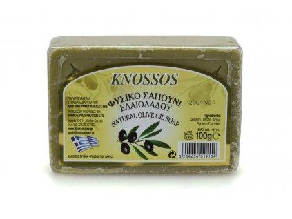 Řecké olivové mýdlo - zelené 100g