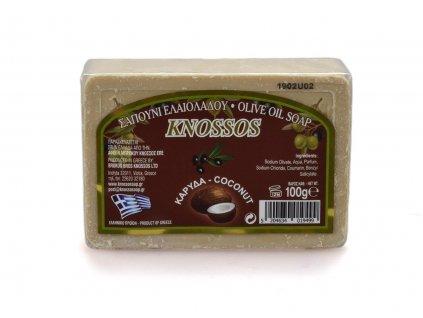 Řecké olivové mýdlo - kokos 100g