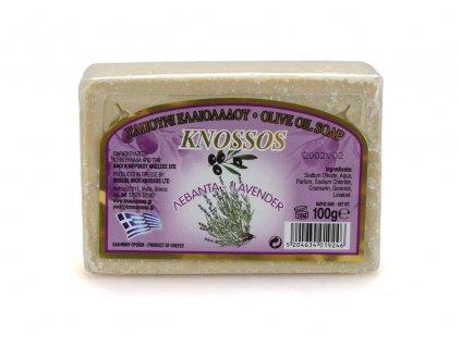 Řecké olivové mýdlo - levandule 100g